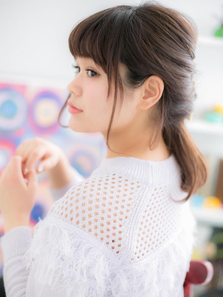 オシャレ女子定番☆ くるりんぱアレンジ♪