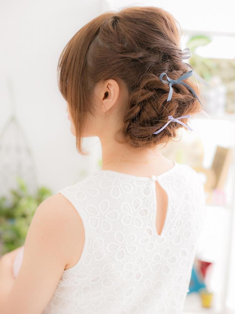 花嫁より可愛く・・・♪マトメ髪